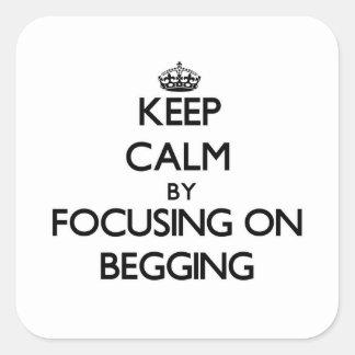 Mantenha a calma centrando-se sobre o pedido