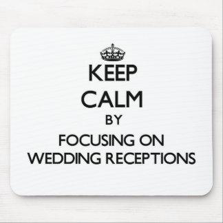 Mantenha a calma centrando-se sobre recepções de c