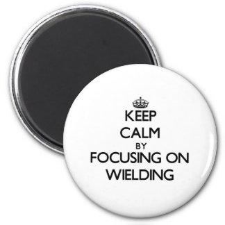 Mantenha a calma centrando-se sobre Wielding