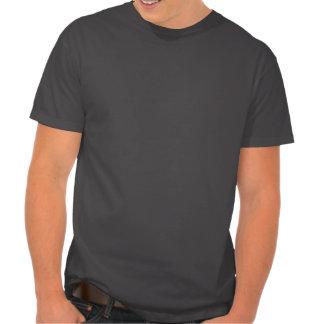 Mantenha a calma e a metáfora sobre t-shirt