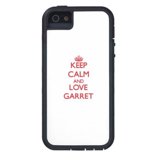 Mantenha a calma e ame o sótão capas de iPhone 5 Case-Mate