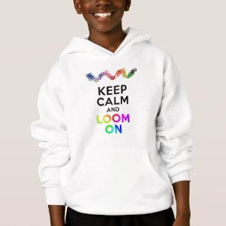 Mantenha a calma e apareça no t-shirt