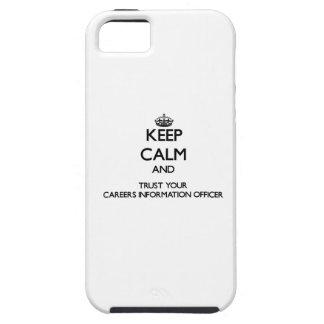 Mantenha a calma e confie sua informação Offic das Capa Para iPhone 5