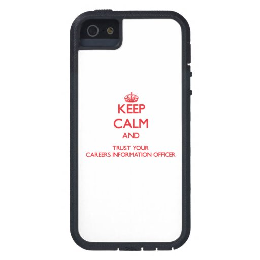 Mantenha a calma e confie sua informação Offic das Capa De iPhone 5 Case-Mate