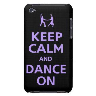 Mantenha a calma e dance na música das capas de ip capas iPod touch