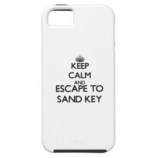 Mantenha a calma e escape para lixar Florida chave Capas De iPhone 5 Case-Mate