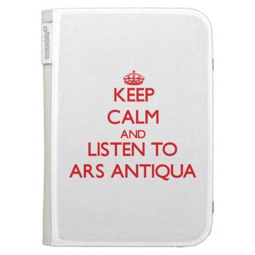 Mantenha a calma e escute o ARS ANTIQUA