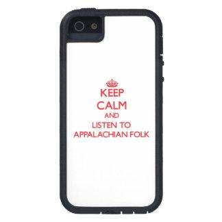 Mantenha a calma e escute POVOS APALACHES Capa De iPhone 5 Case-Mate