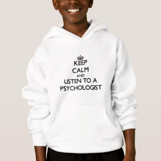 Mantenha a calma e escute um psicólogo tshirt