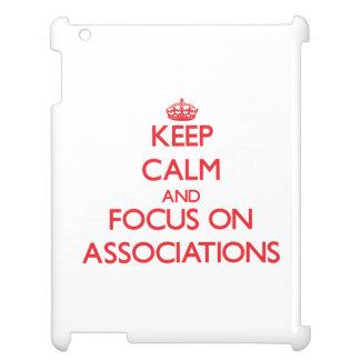Mantenha a calma e o foco em ASSOCIAÇÕES Capa iPad
