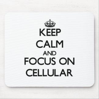 Mantenha a calma e o foco em celular