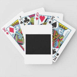 Mantenha a calma e o foco em guloseimas cartas de baralhos