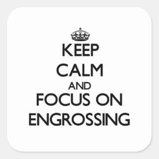 Mantenha a calma e o foco em REDIGIR