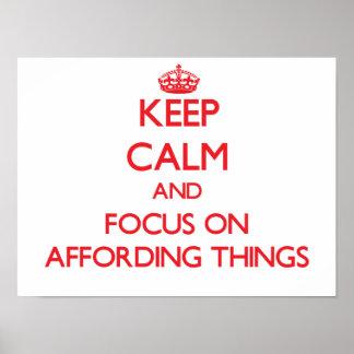 Mantenha a calma e o foco em TER RECURSOS PARA COI