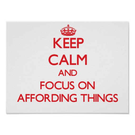 Mantenha a calma e o foco em TER RECURSOS PARA COI Pôsteres