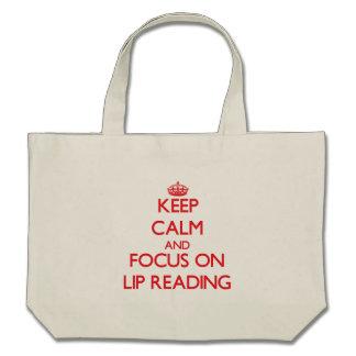 Mantenha a calma e o foco na leitura de bordo bolsa para compra