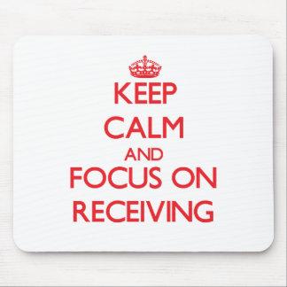 Mantenha a calma e o foco na recepção