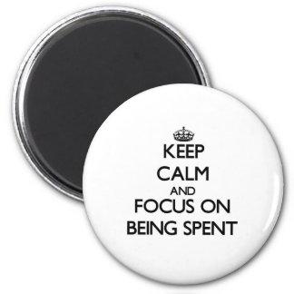 Mantenha a calma e o foco no gasto