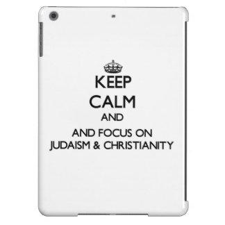 Mantenha a calma e o foco no judaísmo na