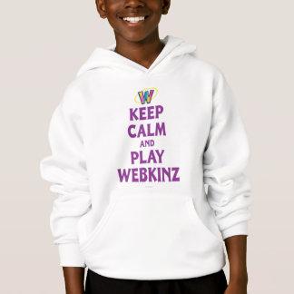Mantenha a calma e o jogo Webkinz Tshirts