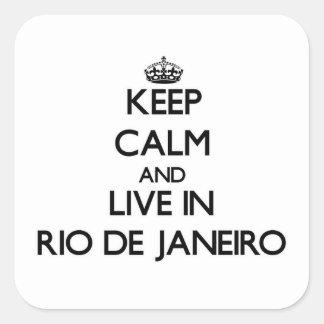 Mantenha a calma e viva em Rio de Janeiro