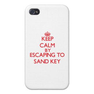Mantenha a calma escapando para lixar Florida chav Capas iPhone 4