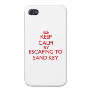 Mantenha a calma escapando para lixar Florida chav Capa iPhone 4