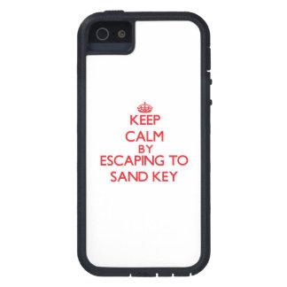 Mantenha a calma escapando para lixar Florida chav Capa iPhone 5