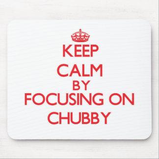 Mantenha a calma focalizando em carnudo
