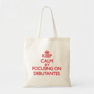 Mantenha a calma focalizando em Debutantes Bolsa Para Compra