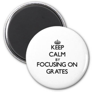 Mantenha a calma focalizando em grelhas