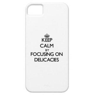 Mantenha a calma focalizando em guloseimas capa iPhone 5 Case-Mate