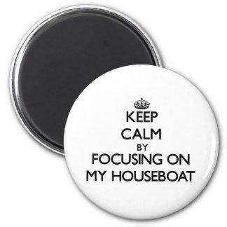 Mantenha a calma focalizando em minha casa flutuan