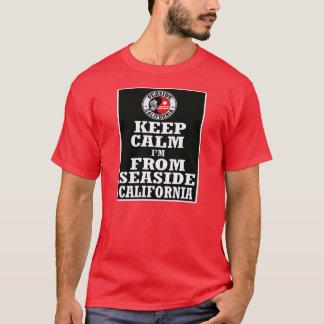 Mantenha a calma, Im do beira-mar, Ca -- T-shirt