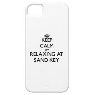 Mantenha a calma relaxando na chave Florida da iPhone 5 Capa