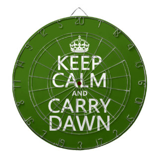 Mantenha alvorecer calmo e do carregar (alguma cor jogos de dardos