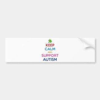 Mantenha autismo calmo e do apoio adesivo para carro