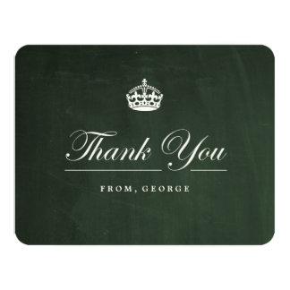 Mantenha cartões de agradecimentos calmos da festa