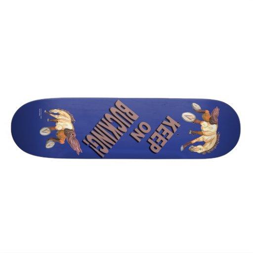 Mantenha no cavalo Bucking Skate