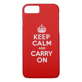 Mantenha o caso calmo do iPhone 7 Capa iPhone 7
