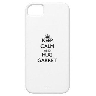 Mantenha sótão calmo e do abraço capa de iPhone 5 Case-Mate