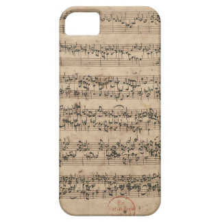 Manuscrito de Bach Capa Para iPhone 5