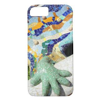 Mão do mosaico de Gaudi Capa iPhone 7