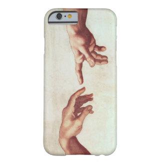 Mãos de Michelangelo Capa Barely There Para iPhone 6