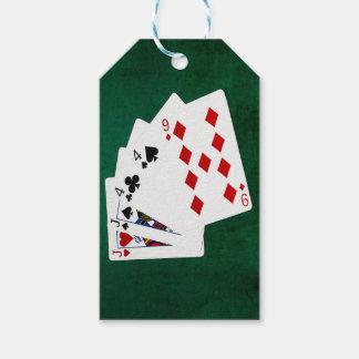 Mãos de póquer - dois pares - Jack, quatro