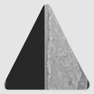 Mãos do destino adesivo triangular