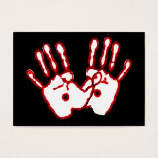Mãos Loving - cartões do intervalo do 20:27 de