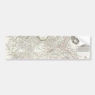 Mapa antigo de Persia Irã, de Afeganistão, & de Ir Adesivo Para Carro