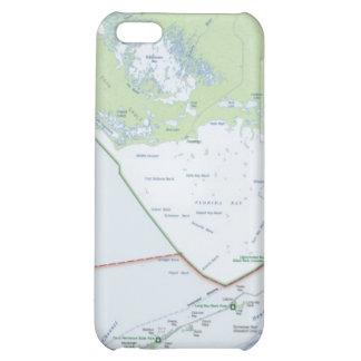 Mapa das chaves de Florida Capa Para iPhone5C