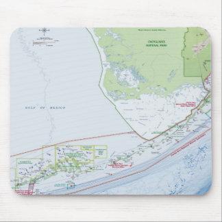 Mapa das chaves de Florida Mousepad